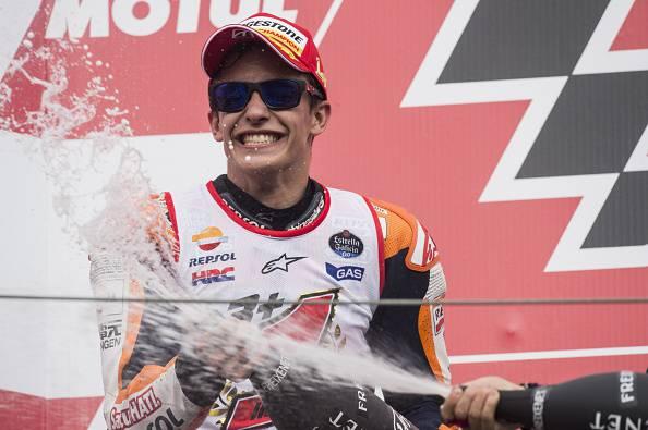 Moto Gp. Marquez trionfa a Indianapolis davanti a Lorenzo e Rossi