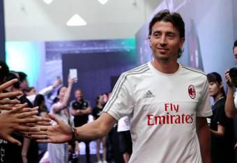 Riccardo Montolivo, giocatore del Milan
