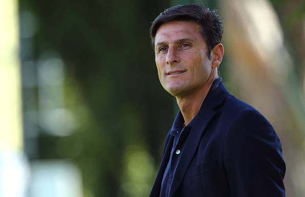 Javier Zanetti, vice presidente dell'Inter