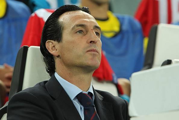 Unai Emery, allenatore del Siviglia