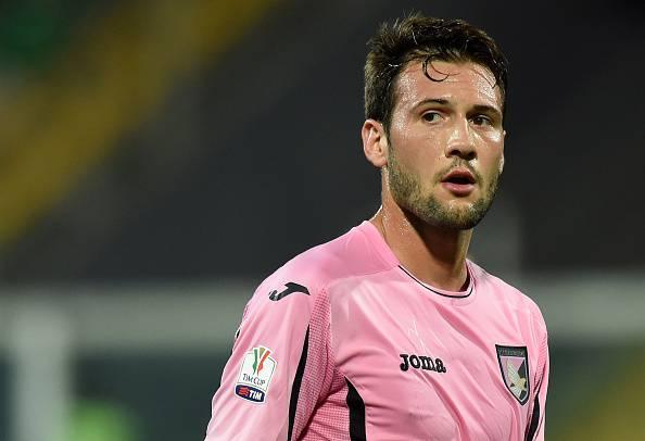 Franco Vazquez, giocatore del Palermo Milan