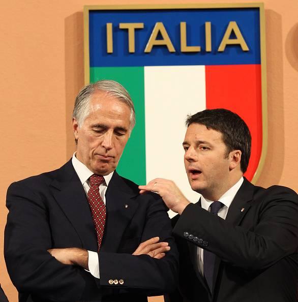 Matteo Renzi e Giovanni Malagò, sostengono la candidatura di Roma 2024