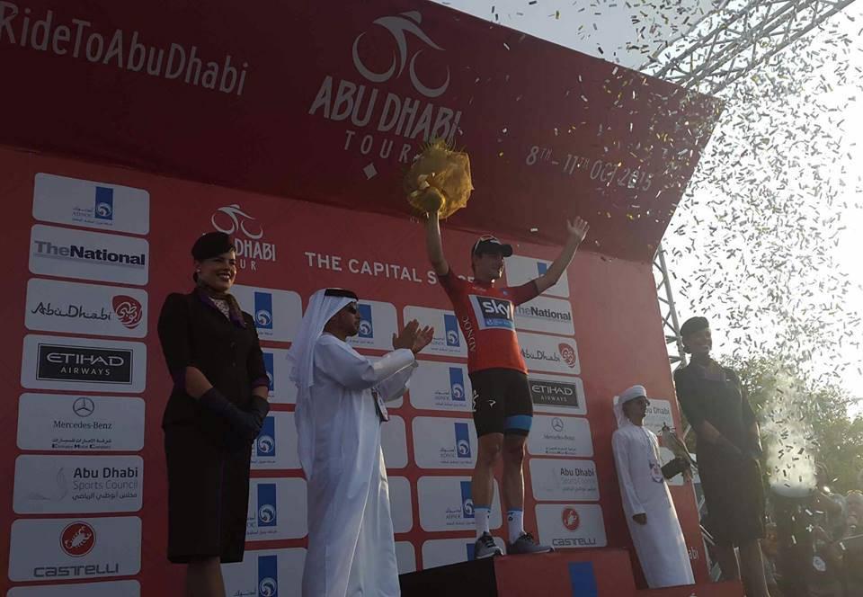 Abu Dhabi Tour 2015. 2^ tappa a Viviani. Brutta caduta per Tom Boonen