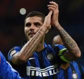 Mauro Icardi, attaccante dell'Inter, è nel mirino del Napoli