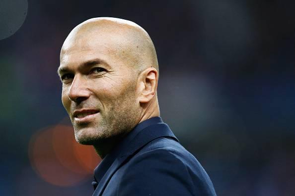 Zinedine Zidane, allenatore del Real Madrid FIFA
