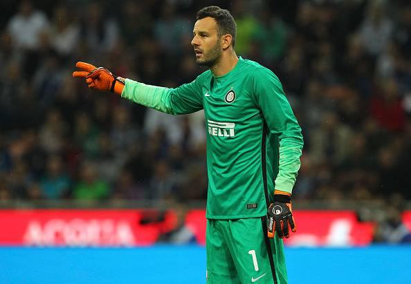 """Inter, Handanovic resta: """"Felice di aver firmato fino al 2019"""""""