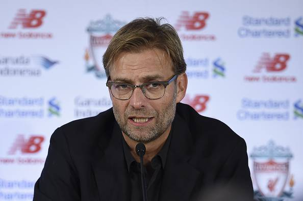 Jurgen Klopp, allenatore del Liverpool parla della Juventus favorita in Champions League