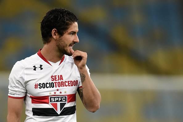 Alexandre Pato, attaccante del Corinthians, è nel mirino della Lazio