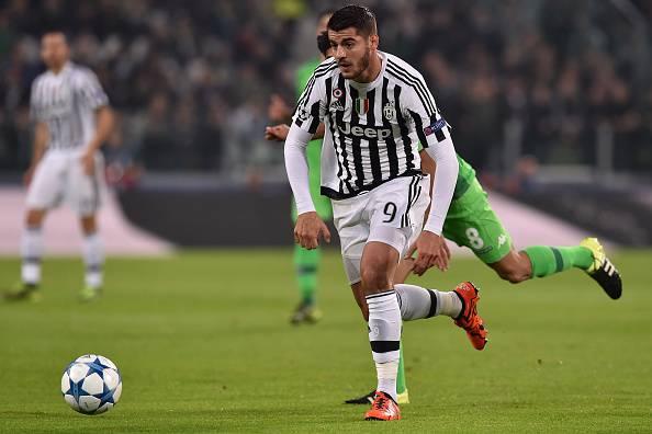 Alvaro Morata, attaccante della Juventus