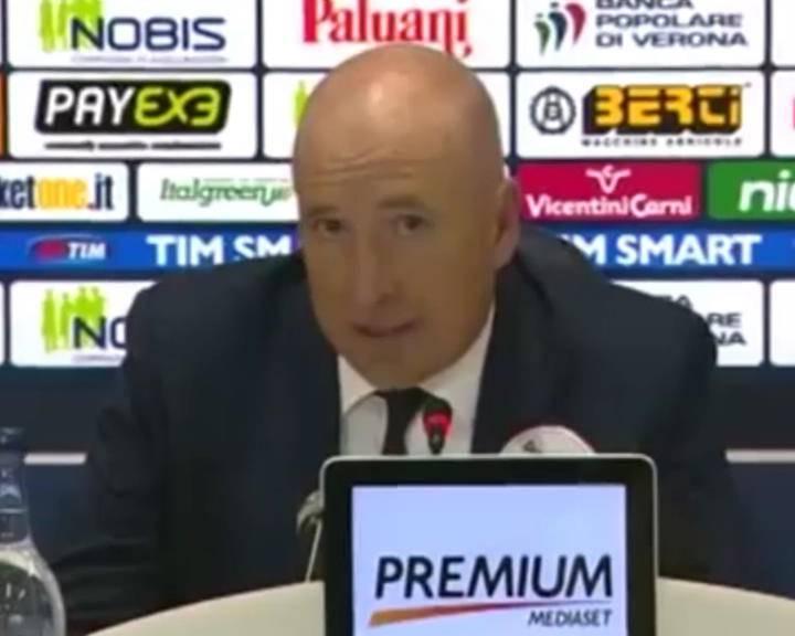 """Chievo Verona – Hellas Verona. Maran: """"Il pari ci sta stretto"""""""