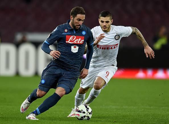 Verso Napoli-Inter: Higuain vs Icardi, tango al San Paolo