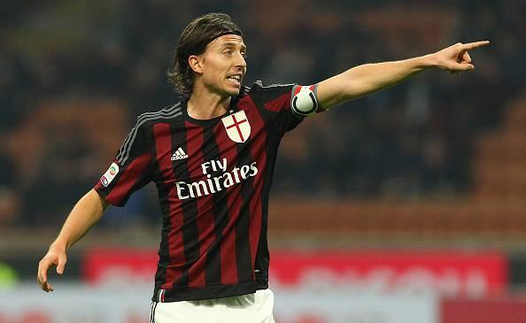 Riccardo Montolivo, centrocampista del Milan