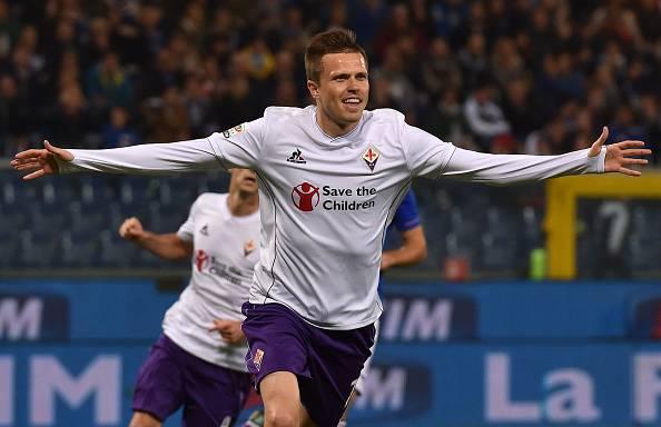 Josip Ilicic, giocatore della FIorentina