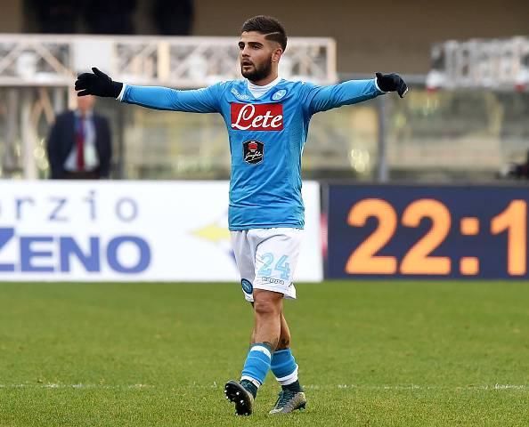 Verso Club Brugge – Napoli, Insigne non ce la fa