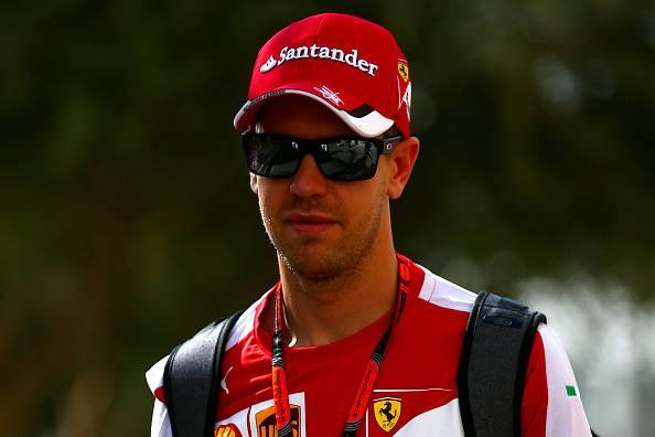 Sebastian Vettel, pilota della Ferrari e 4 volte campione del mondo di Formula 1