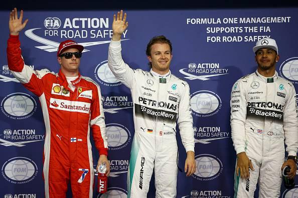 GP Abu Dhabi, Rosberg firma la pole position