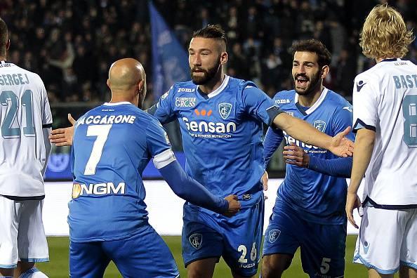 Serie A, Tonelli condanna la Lazio. Vittoria fondamentale dell'Empoli