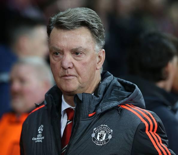 Louis van Gaal, allenatore del Manchester United Premier League