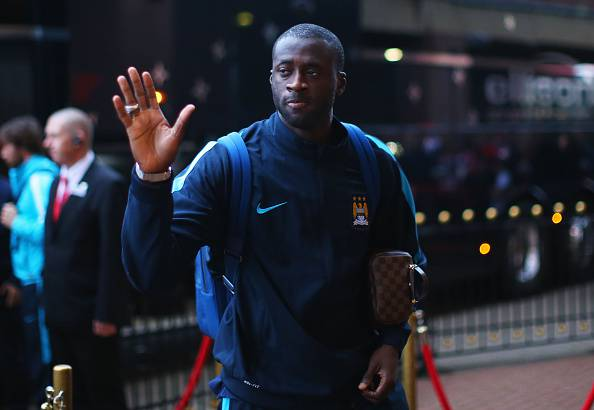 Yaya Tourè, centrocampista del Manchester City, piace all'Inter