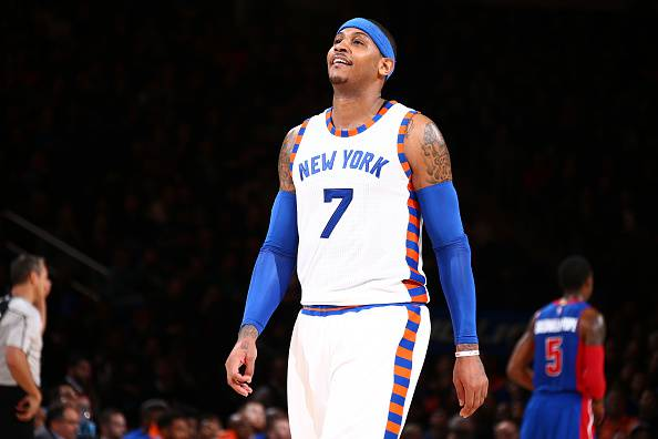 Carmelo Anthony, stella dei New York Knicks NBA