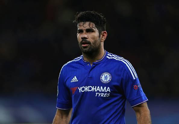 Diego Costa, attaccante del Chelsea Premier League