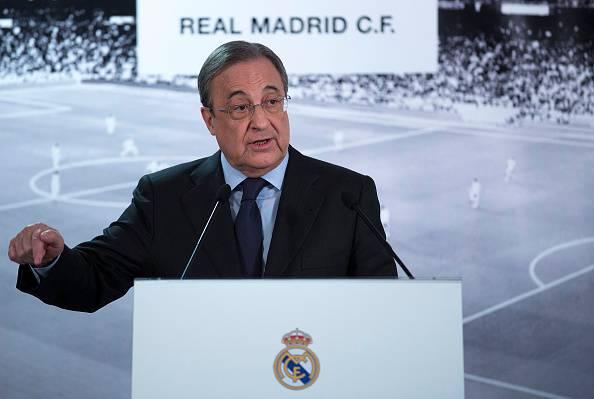 Florentino Perez Real Madrid contro la VAR