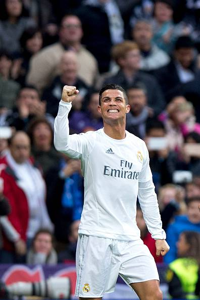 Cristiano Ronaldo, stella del Real Madrid
