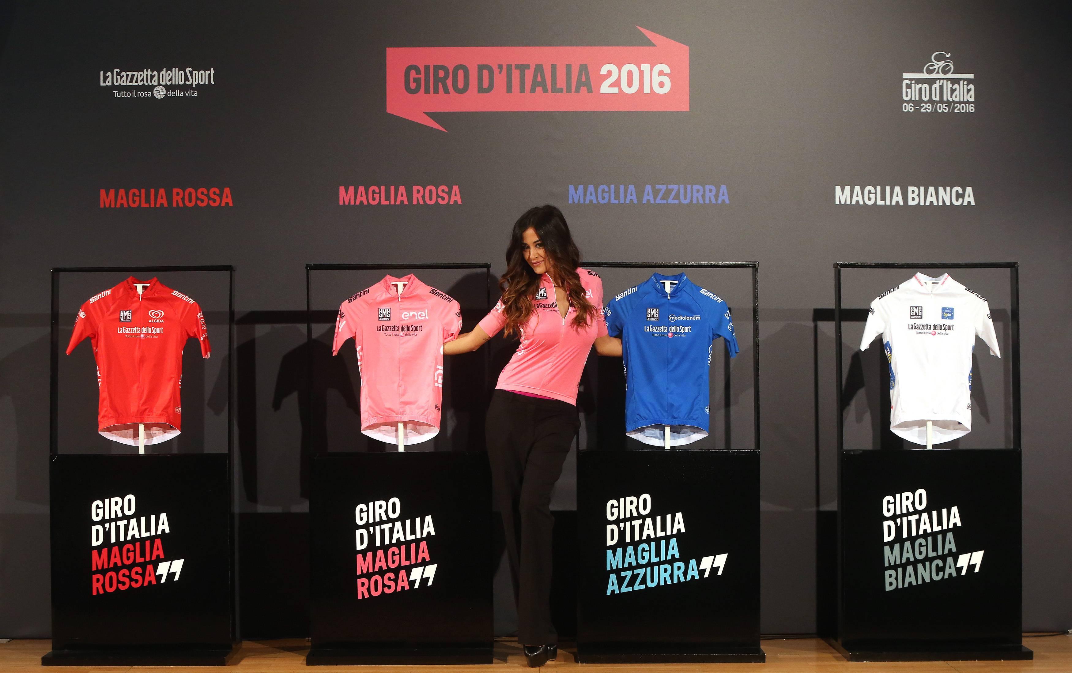 maglie giro d'italia 2016