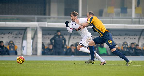 Alessio Cerci con la maglia del Genoa