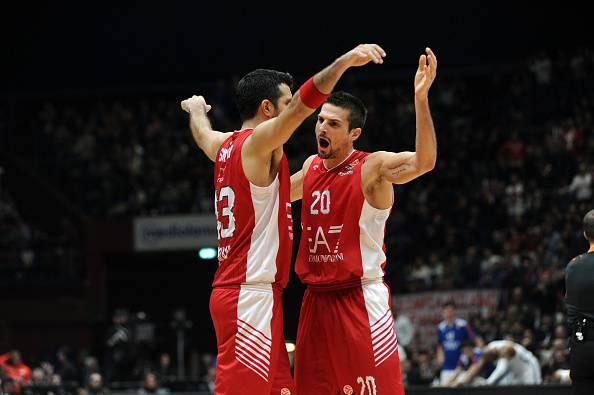 Andrea Cinciarini, giocatore dell'Olimpia Milano basket