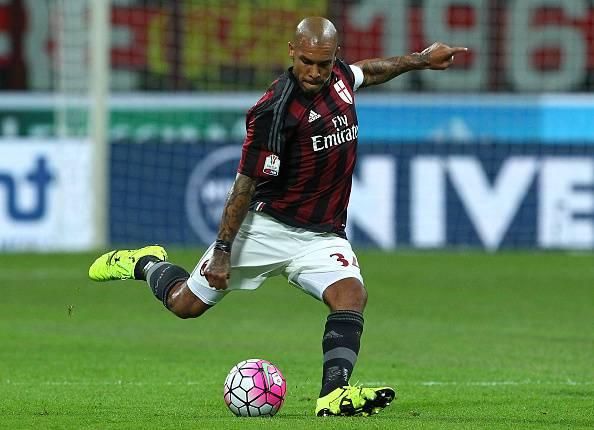 Nigel De Jong, centrocampista del Milan