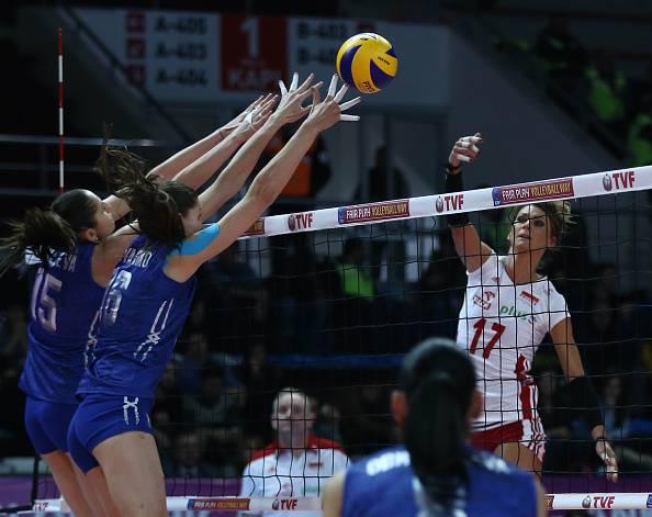 Russia Polonia volley femminile