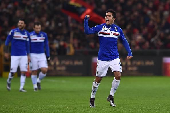Eder, attaccante della Sampdoria
