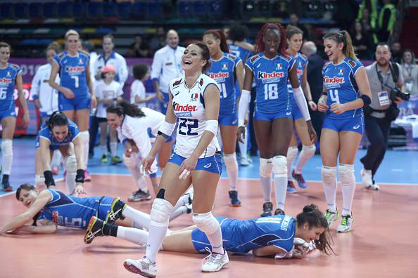 Volley, Qual. Rio 2016: l'Italia soffre ma è in semifinale