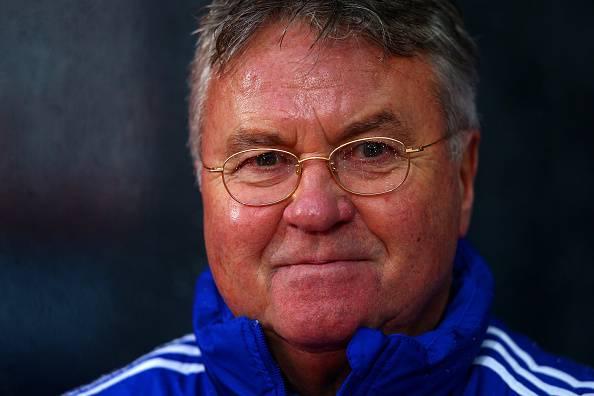 Guus Hiddink, allenatore del Chelsea