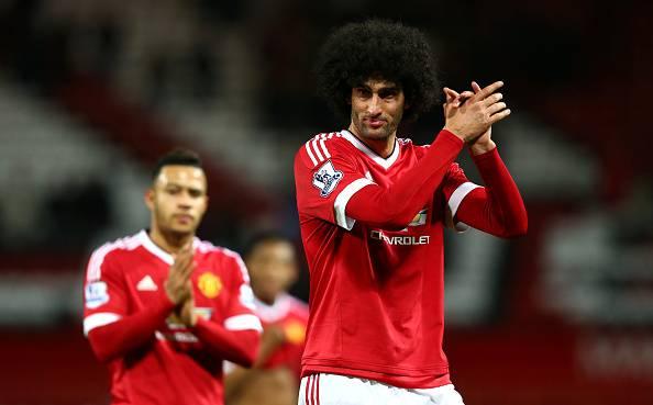 Marouane Fellaini, centrocampista del Manchester United