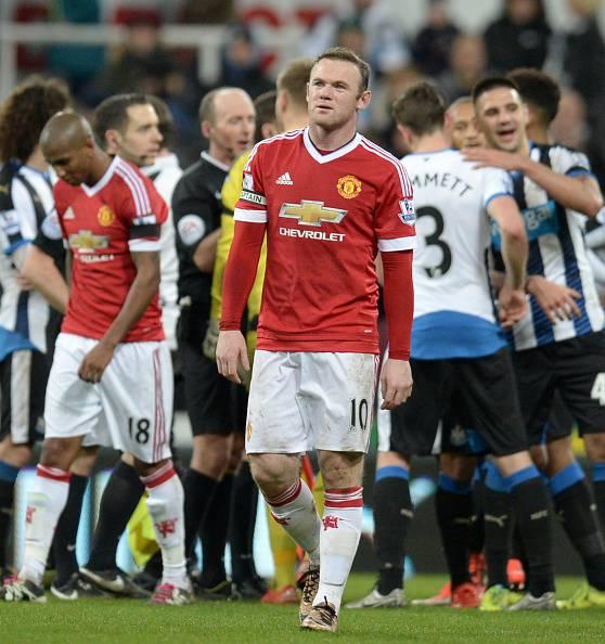 Wayne Rooney, stella del Manchester United Premier League