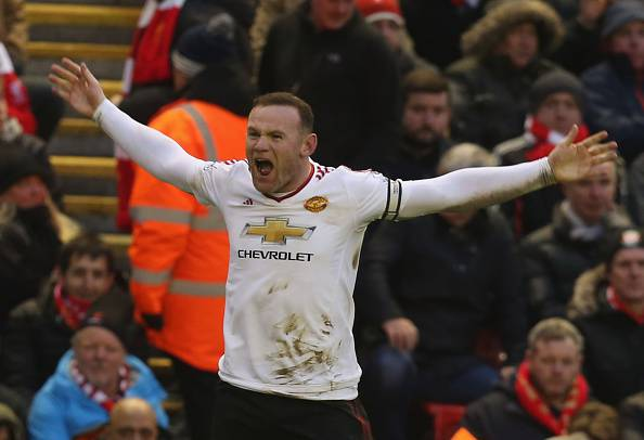 Wayne Rooney, attaccante del Manchester United