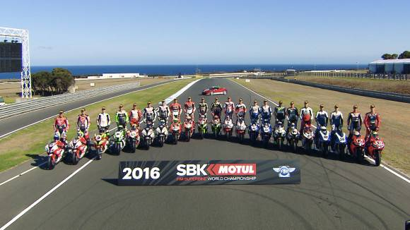SBK SUPERBIKE 2016