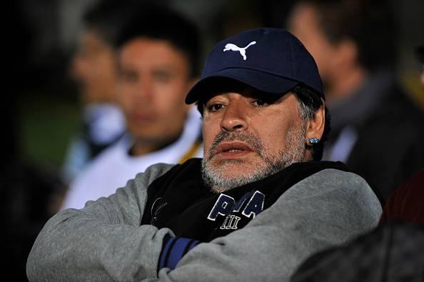 Diego Armando Maradona, ex stella dell'Argentina e del Napoli
