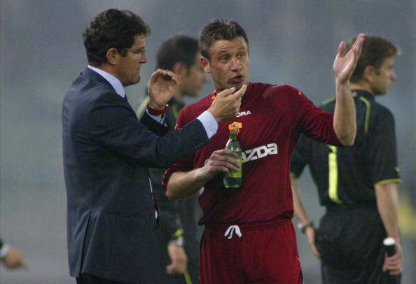 Capello e Cassano (getty images)
