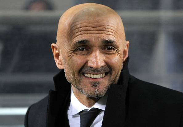 Luciano Spalletti, allenatore della Roma Champions League