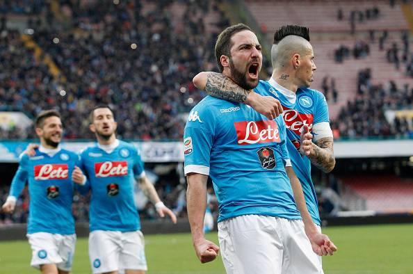 SERIE A: Vincono Napoli e Juventus. I bianconeri restano a -2, sabato lo scontro diretto