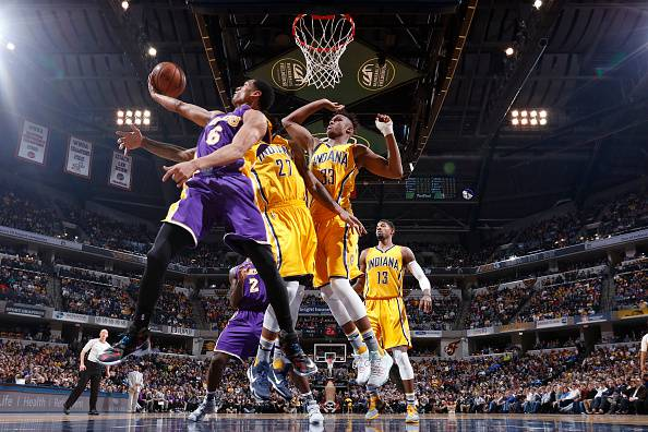Pacers v Lakers
