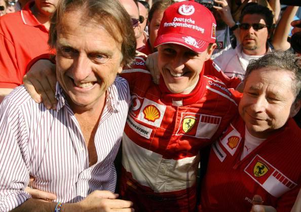"""Montezemolo: """"Non ho buone notizie su Schumacher"""""""