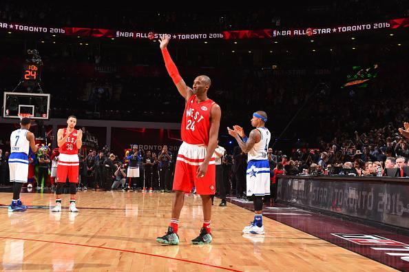 Kobe Bryant, all'ultimo All Star Game NBA della carriera