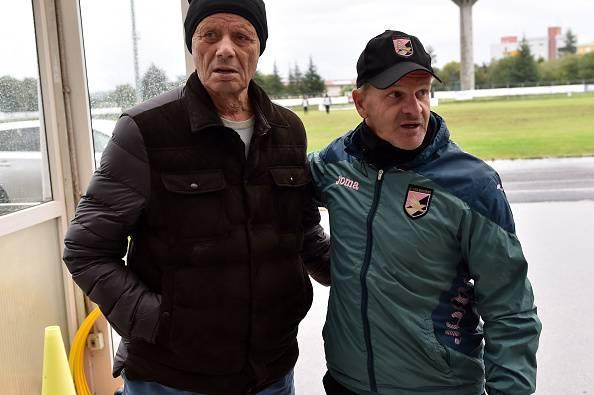 Zamparini e Iachini, presidente e allenatore del Palermo