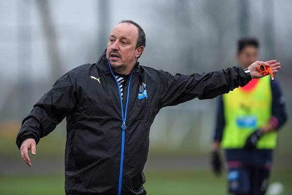 Rafa Benitez, allenatore del Newcastle Premier League