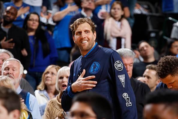 Dirk Nowitkzi, stella dei Dallas Mavericks NBA
