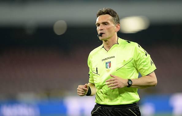 Massimiliano Irrati arbitra Juventus-Inter